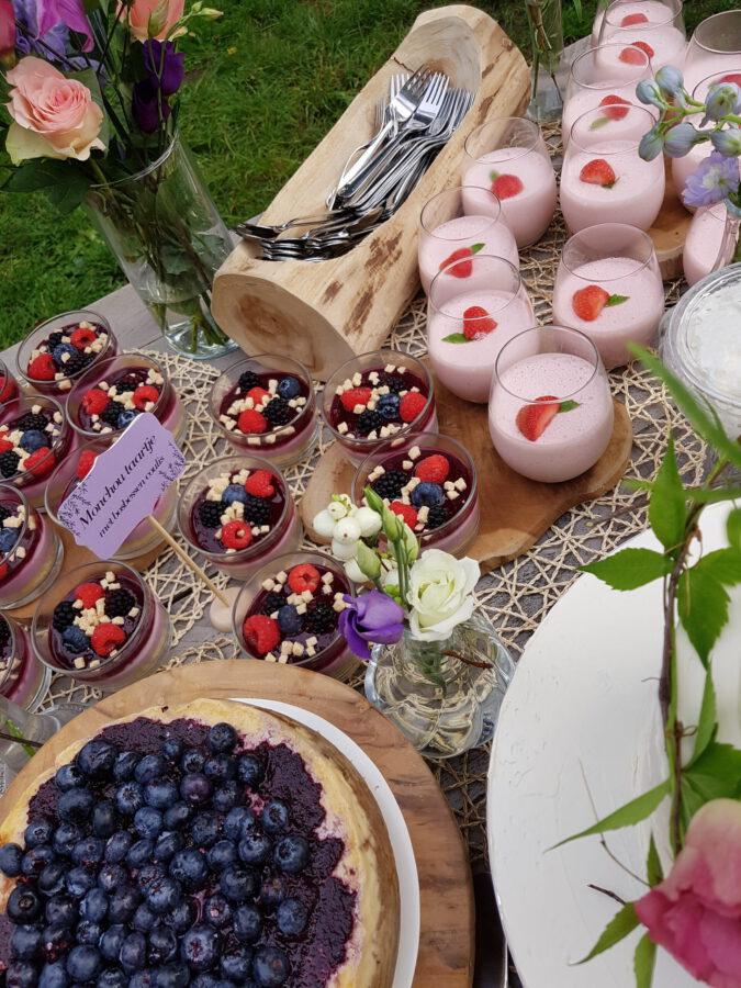 sweet tables en bruidstaarten